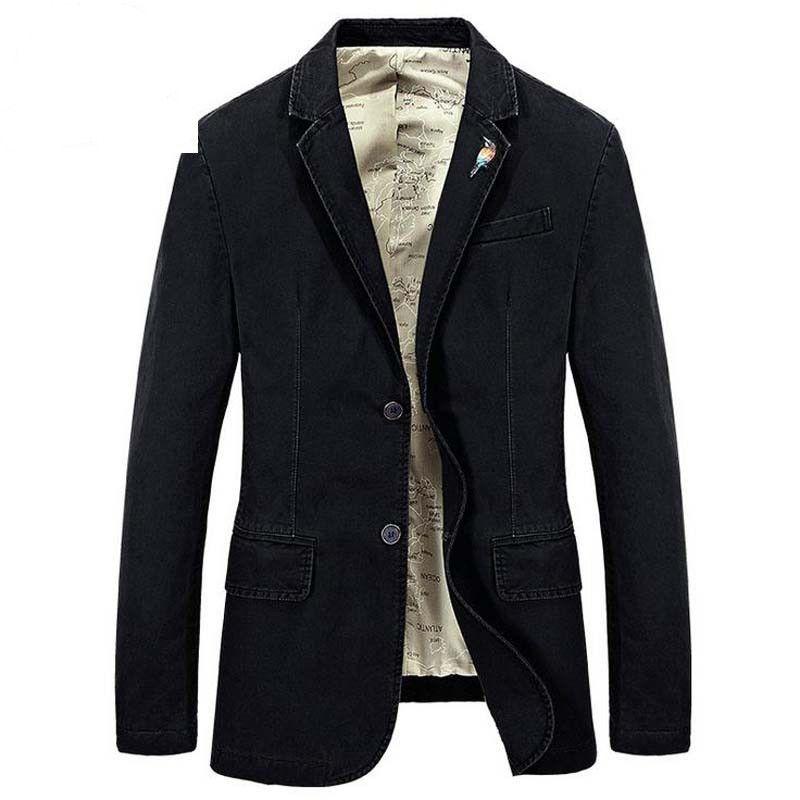 Blazer Leisure Coats Mens Suit Autumn Jackets Fashion Coat Jacket Pure Color Tops Outer Male Blazers