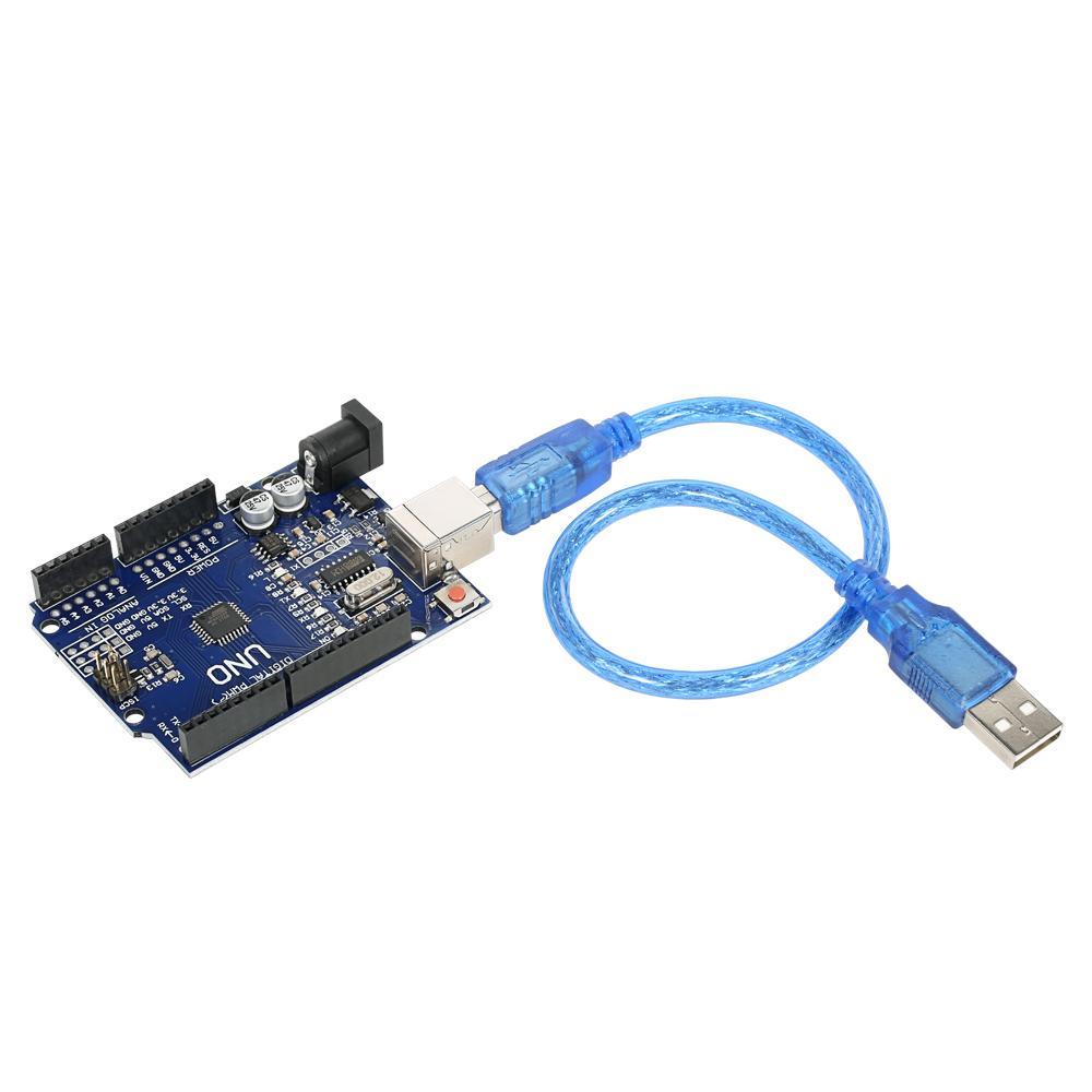3-pack UNO R3 ATmega328P CH340 placa de desenvolvimento de placa USB versão melhorada