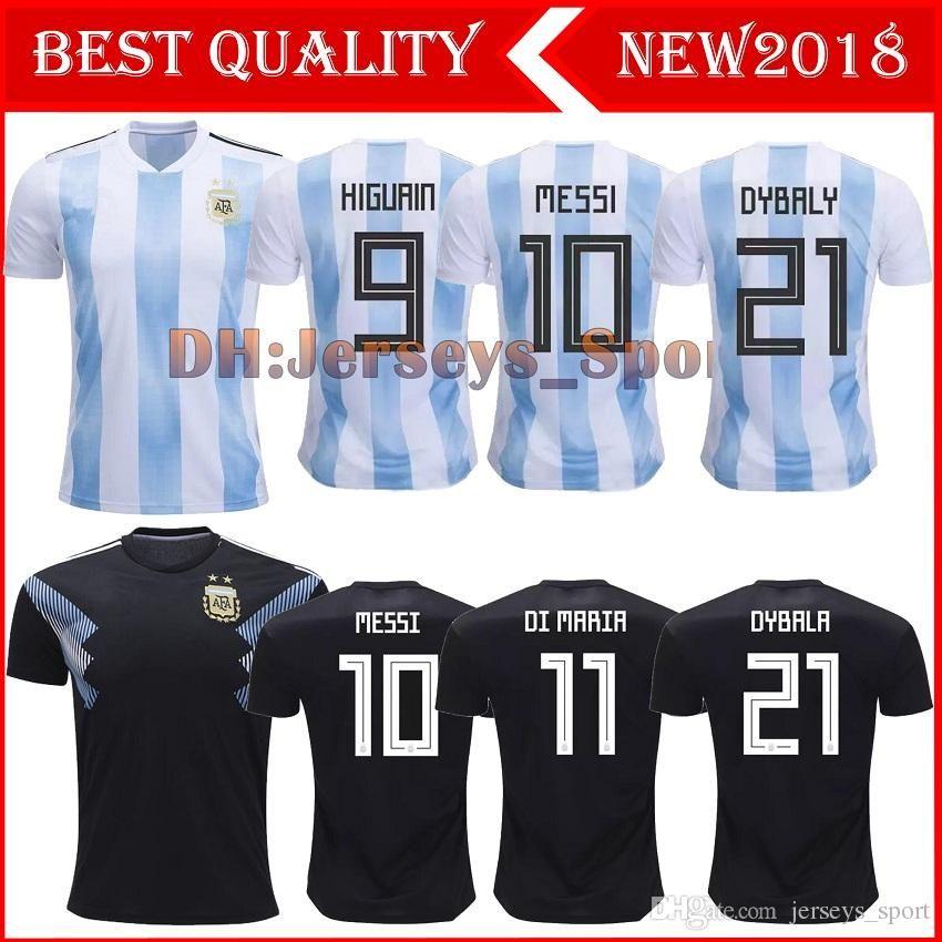 5b0bdd59a3c ... free shipping 2018 argentina world cup soccer jersey 18 19 thailand  argentina 10 messi soccer shirt