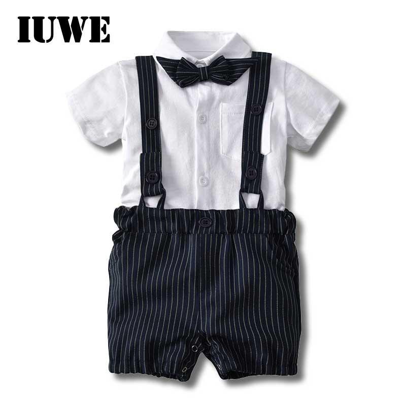 Grosshandel Junge Kleidung Hochzeit Anzuge Baby Sommer Kinder