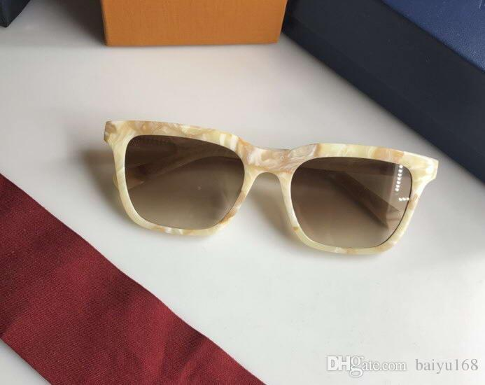 fb5e08b45506b Fashion 2326 Square Brown Shades Sunglasses Designer Eyewear Oculos De Sol  Retro Sun Glasses New with Box SUNGLASSES Women Sunglasses Online with ...