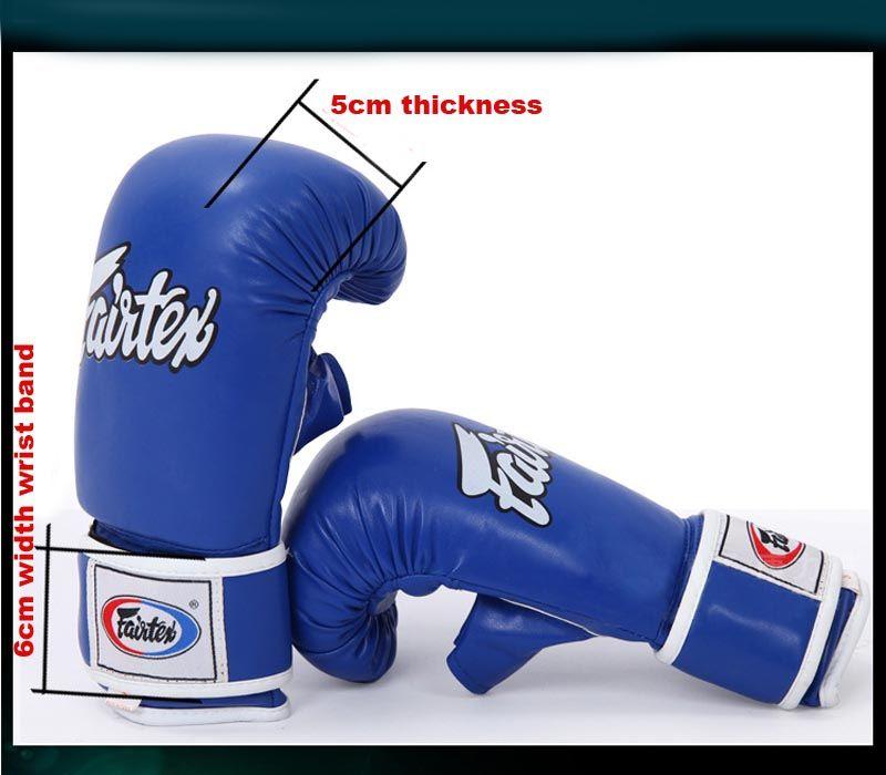 MMA kid and adult free combat sanda gloves kicking fighting mitt thickened breathable boxing taekwondo glove