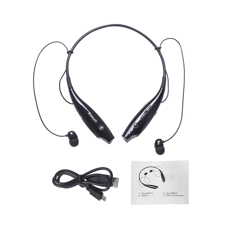 bluetooth headphone Wireless Neckband Bluetooth Headset HV800 Sports headphone Earphone Stereo Earbuds Earpiece With Microphone For Phone