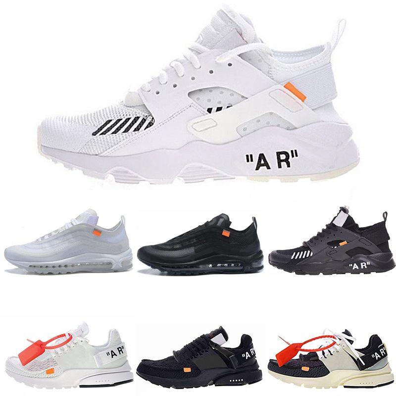 Air Diseñador De Nuevo Zapato Nike Ow Presto White Off Huarache wxFBgTqvU 4574d1a81df3a