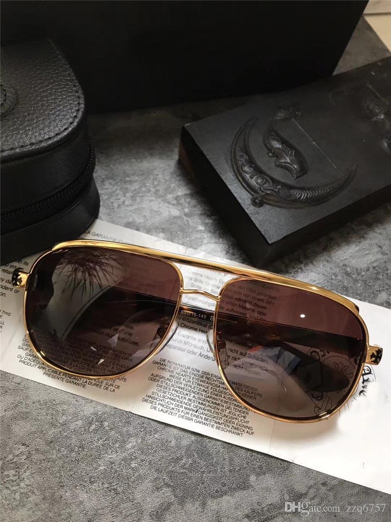 d812372b61 New Fashion Popular Designer Sunglasses New York Premium Style Designer  Eyewear Pilot Frame Steampunk Style Top Quality Uv400 Lens Mens Eyeglasses  Sport ...