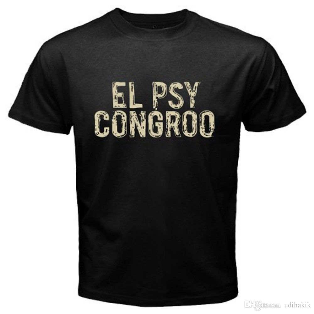 T-shirts New Steins Gate El Psy Congroo Anime Mens Black T-shirt Size S-3xl Tops & Tees