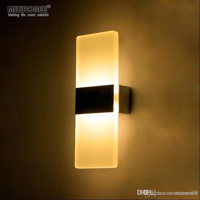 Moderne LED Wandleuchte Badezimmer LED Wandleuchten Aluminium Wandleuchte  Neben Lampe für Schlafzimmer Studie 100% Gareentee