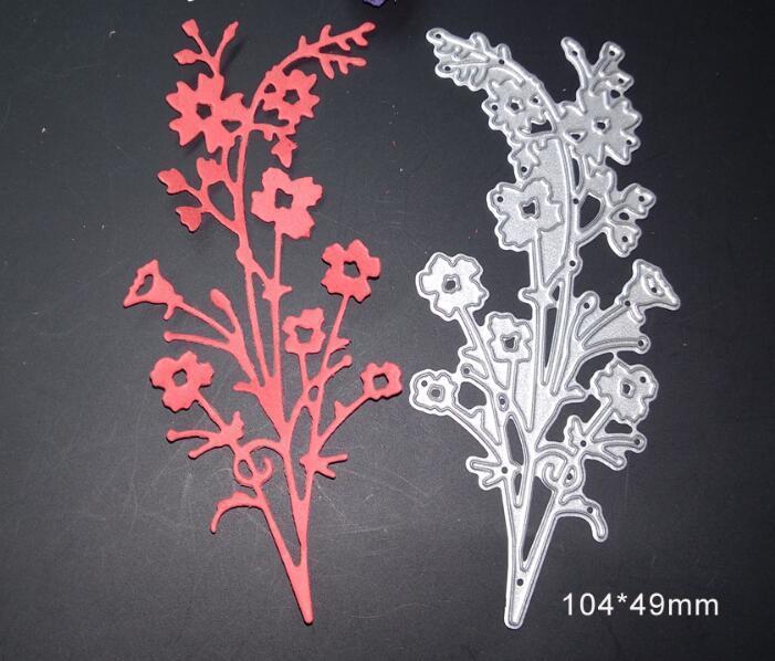 Dies Scrapbooking Spring Bloom Flower Metal Cutting Dies Craft Die Cut New 2018 Stamps Gift Box Card Making Embossing Frame DIY