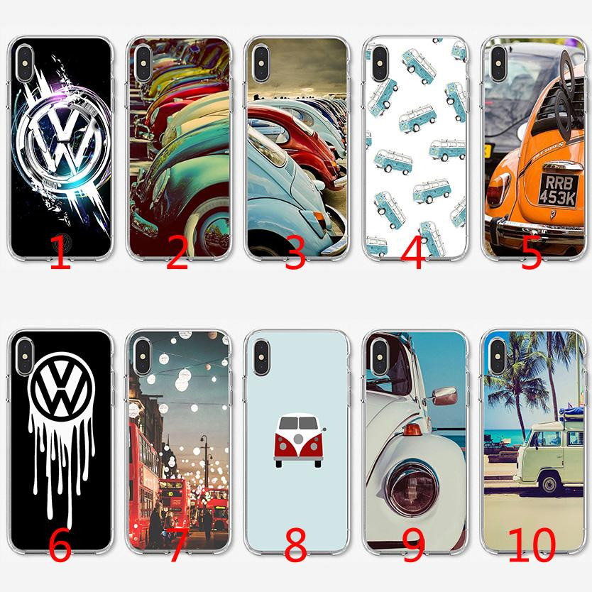check out 704d8 a3c20 Volkswagen VW Art logo Soft Silicone TPU Case for iPhone X XS Max XR 8 7  Plus 6 6s Plus 5 5s SE Cover