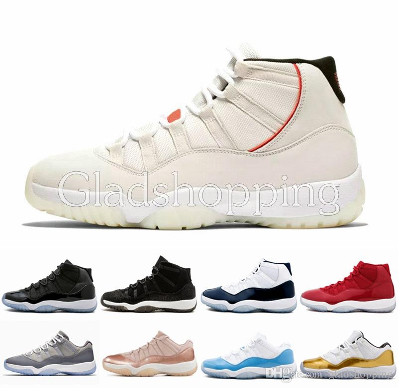 0eff14e6c0bd9d Platinum Tint 11 2018 Concord 45 Cap And Gown Men Basketball Shoes Sneakers  11s Space Jam Sports Designer Althetic Trainers Size 5.5 13 Shoes Sports  Sports ...