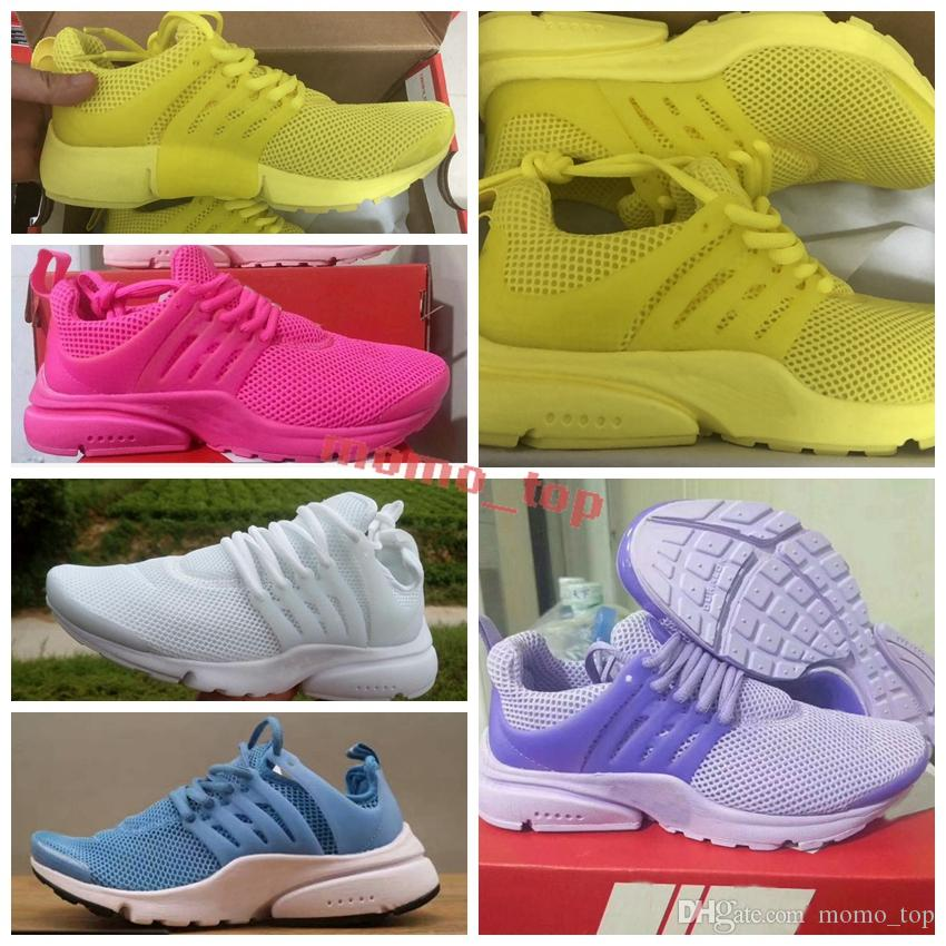 best website bbb36 6a0f3 Best Quality Prestos 5 V Running Shoes Men Women 2018 Presto Ultra BR QS  Yellow Pink Black Oreo Outdoor Sports Fashion Jogging Sneakers Sport Shoes  Mens ...