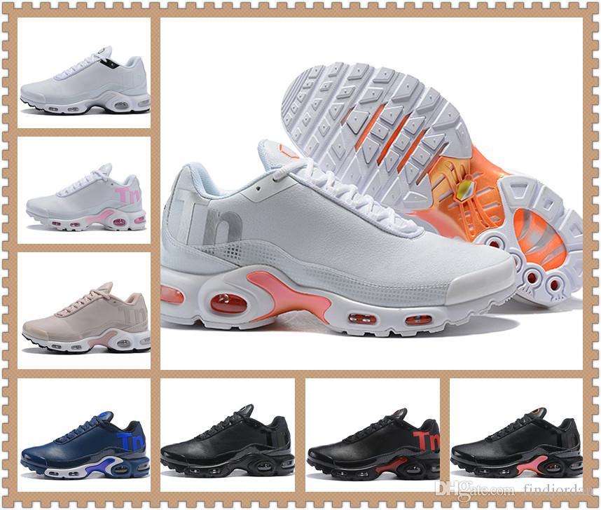 905480e981fe Acheter Hommes Mercurial TN Marine Royal Chaussures De Course Coussin  Desinger Plus TN Ultra SE Baskets Sport Bonne Qualité Mens Sneakers Taille  De  101.53 ...