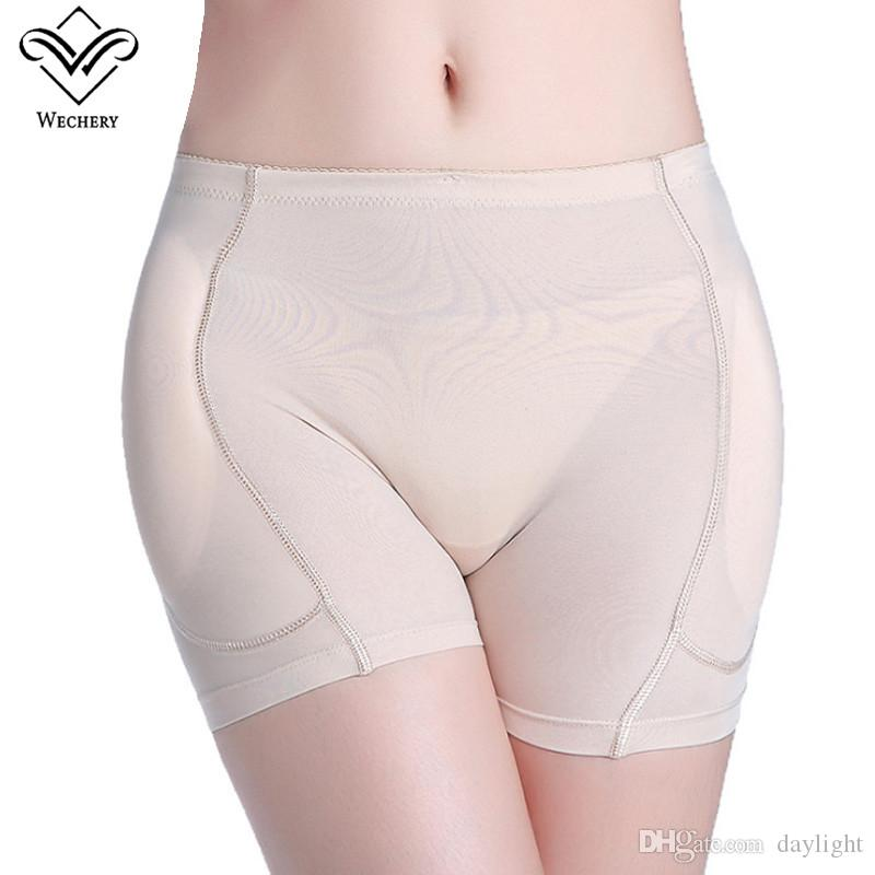 e77b621757b Wechery Sexy Women Pads Enhancers Butt Lifter Shapers Control Panties  Removable Inserts Sponge Padded Slimming Underwear Enhancers Butt Lifter  Slimming ...