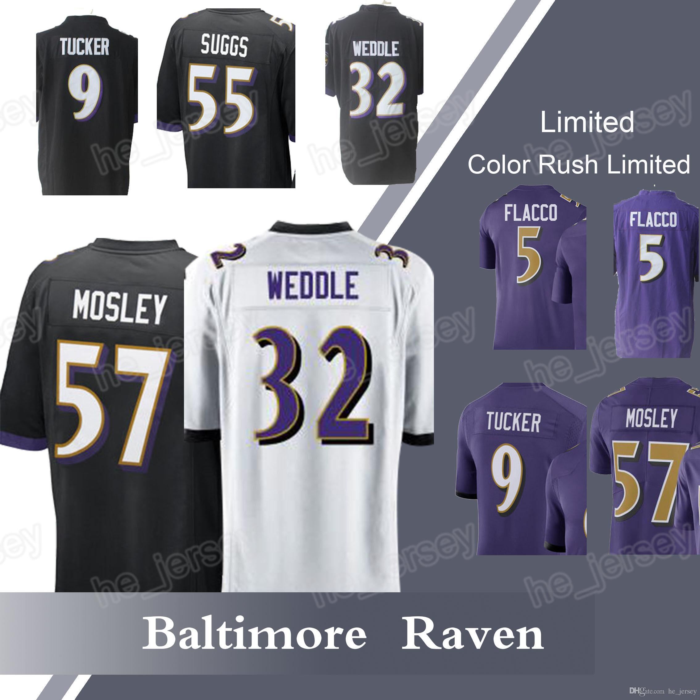 separation shoes 8eedf 288fe norway baltimore ravens 9 justin tucker green stitched ...