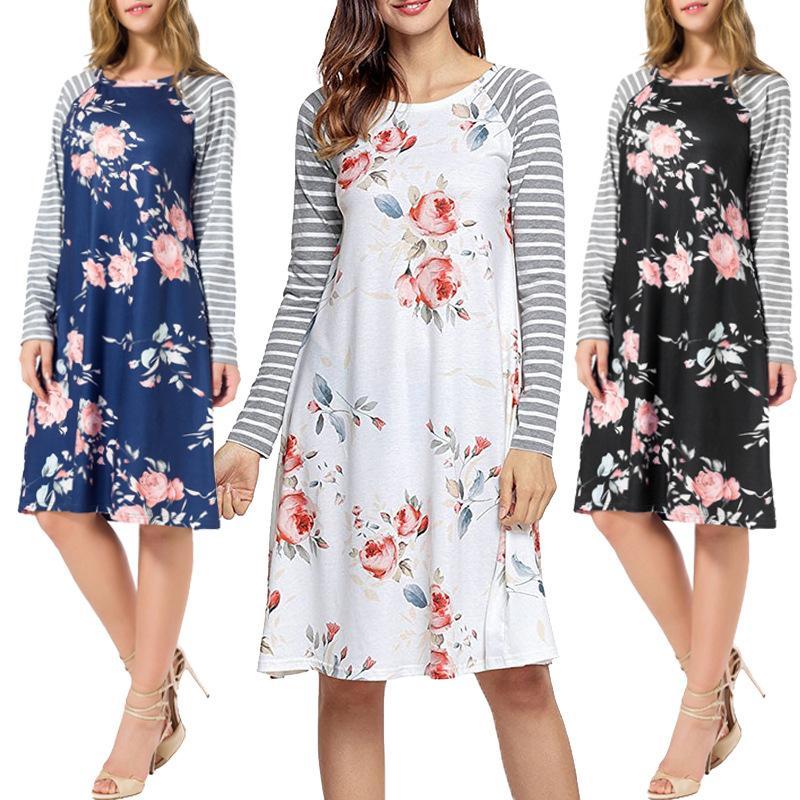 0d24c4e588 Compre Camisa De Vestir Con Estampado De Dama Camiseta Superior Para Mujer