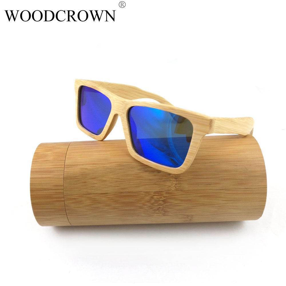 de233e9d45 Compre Gafas De Sol De Bambú De Bambú Polarizadas Clásicas De Marca Hechas  A Mano. A $30.27 Del Hilaryw | DHgate.Com