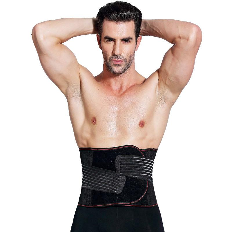 8c96e0796e Men Waist Trainer Corset Slimming Belt For Men Abdominal Waist Cincher  Corset Plus Size Adjustable Unisex Girdle Belt Trimmer Conveyor Belt Belts  From ...