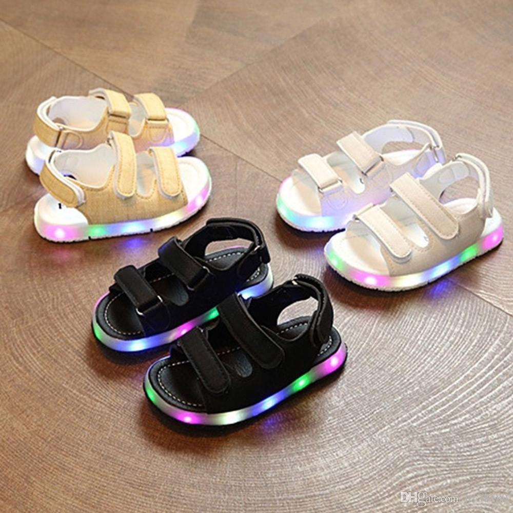 2018 Baby Boys Light Shoes Toddler Kids