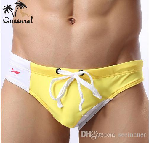 69ce78764c Swimwear Men Swimsuit Swimming Trunks Briefs Men's Swimwear Beach ...