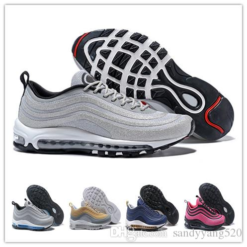 84c0b59feca37 Newest 97 OG Air Shoes Bullet 2018 Undefeated For Men Casual ...