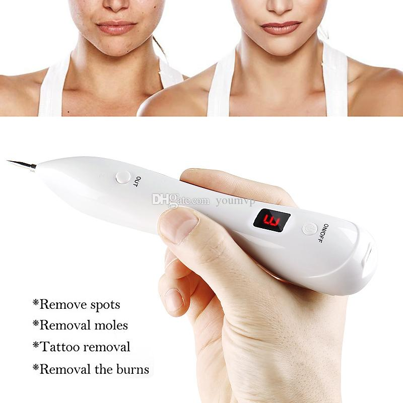6 level LCD Plasma Pen Dark Spot Remover Laser Mole Wart Removal  Tattoo/Freckle Facial Skin Tag Removal