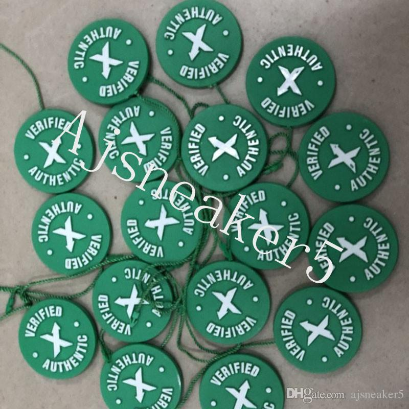 14c4a5f0057c8c 2019 2018 In Stock X Green Circular Tag Plastic Shoe Buckle StockX Verified  X Authentic Green Tag For OFF Shoes Men White Wholesale Retail From  Ajsneaker5