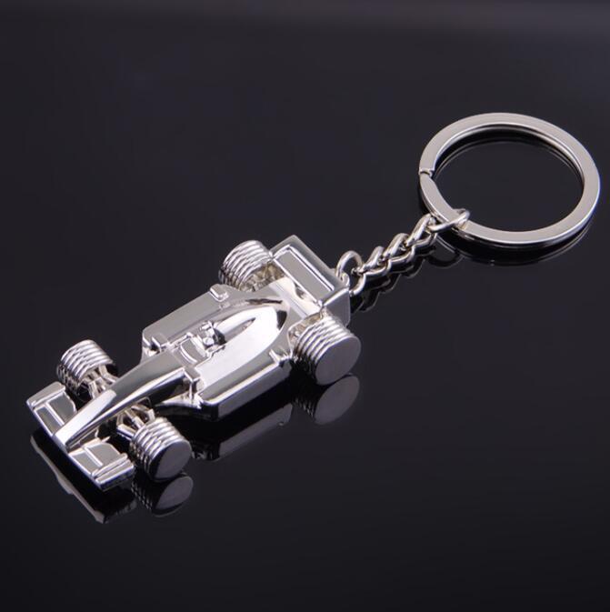 DHL Модель Автомобиля Брелки Коллекционные Металлические Брелок Мода Серебряные Брелоки Прохладный Аксессуары Для Мужчин Ювелирные Аксессуары