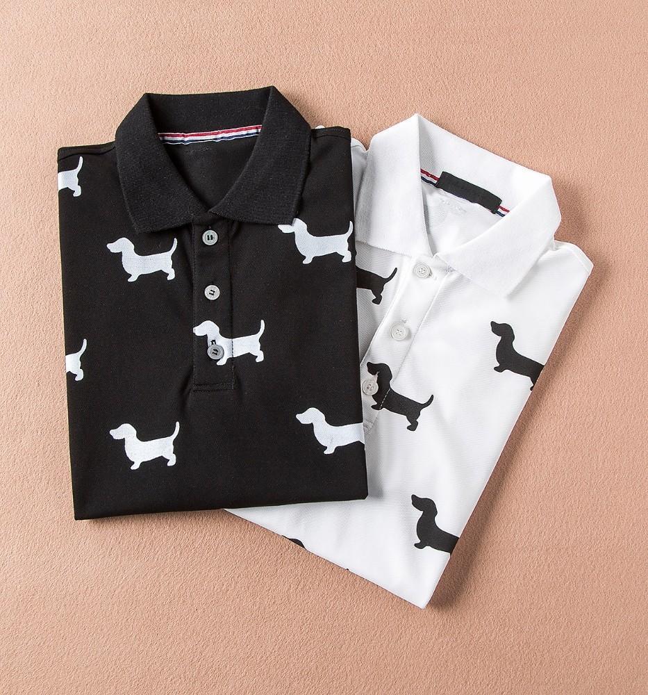 19312b034ca Luxury Design Tshirt Fashion T-shirts Men Funny Animal Dog Printed T ...