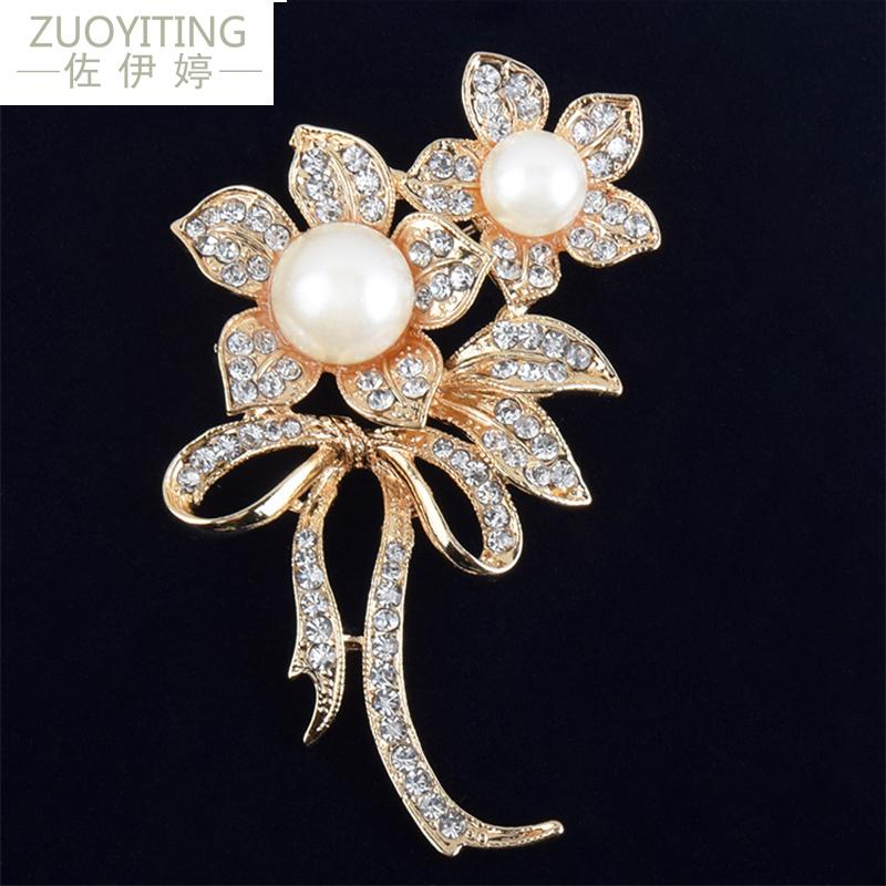 Bathing Accessories 12pcs Lot Silver Plated Crystal Rhinestone Wedding Brooches Pins Making Things Convenient For Customers Baby