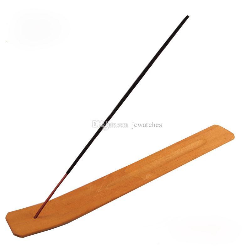 Natural Plain Wood Wooden Incense Stick Ash Catcher Burner Holder Incense Stick Holder Home Decor