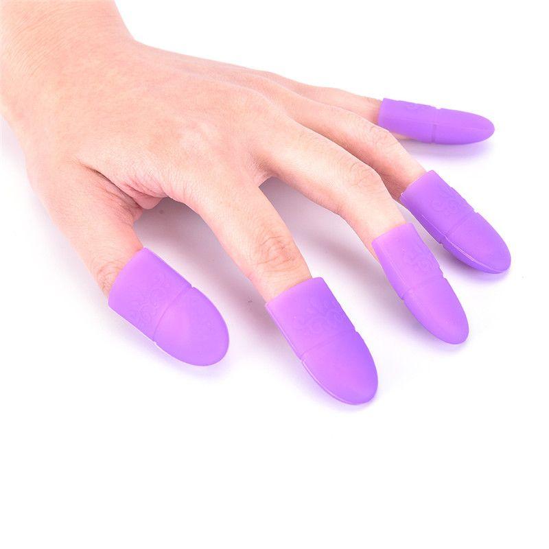 Boa qualidade Nail Art Gel Polonês Removedor Cap Silicone Soak Off Cap Clipe Gel Removedor Cap Manicure Ferramentas de Limpeza