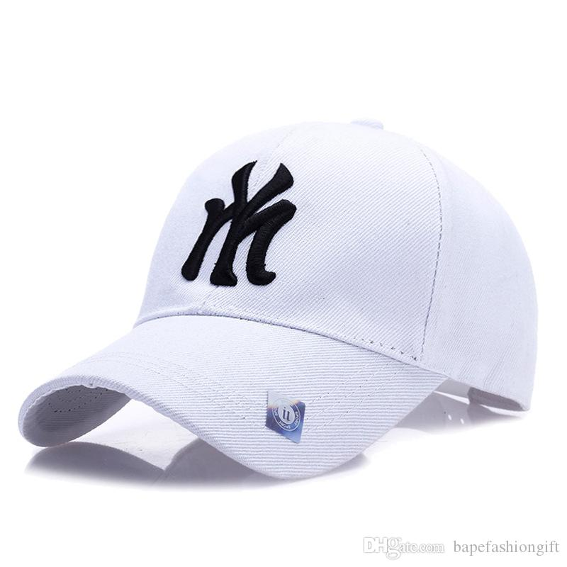 703202eede3 Hat Spring New Men And Women Outdoor Korean Baseball Cap Autumn And Winter Sun  Protection Letters Cap Couple Leisure Hat Leather Hats The Game Hats From  ...