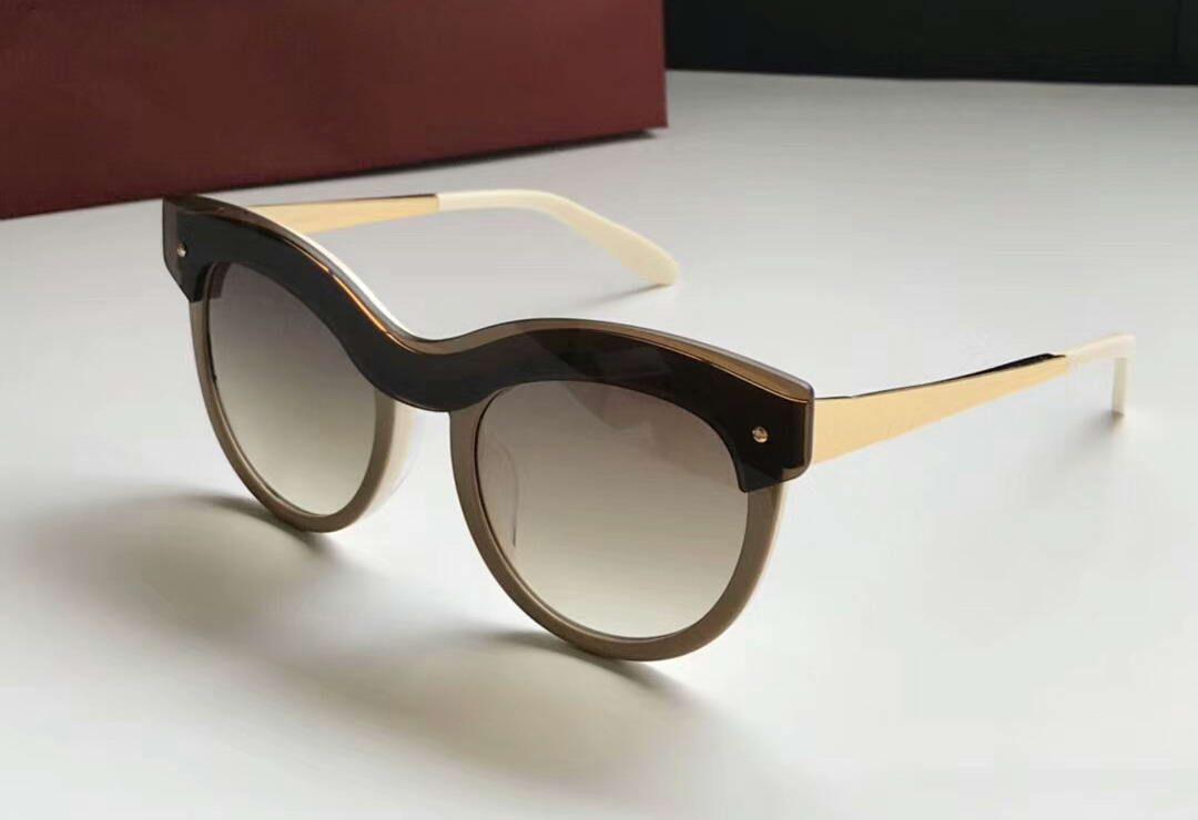 91a5ce7e979b2 Compre Mulheres Designer De Óculos De Sol Redondos Sf774s 267 Bege  Gradiente   Rosa 774 Sonnenbrille Preto Das Mulheres Marca De Moda Óculos  De Sol Novo Com ...