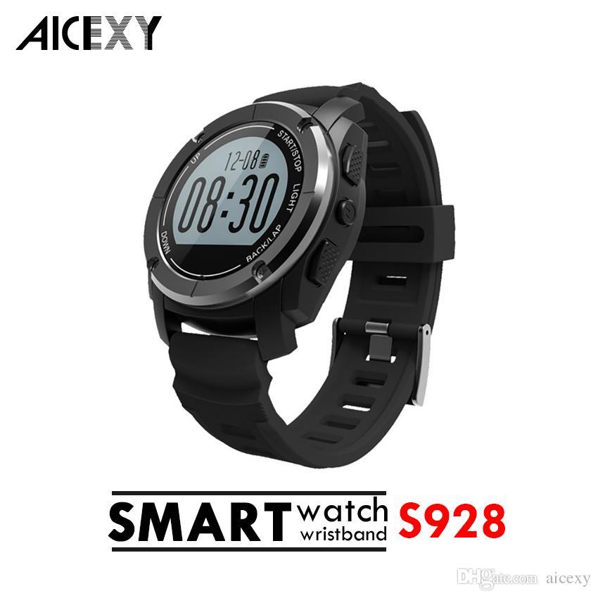 9d3b3bf867c4 Relojes Automaticos Suizos Sport Smartwatch S928 Con Datos Deportivos  Bluetooth Seguimiento IP66 Uso Al Aire Libre Reloj Inteligente A Prueba De  Agua Para ...