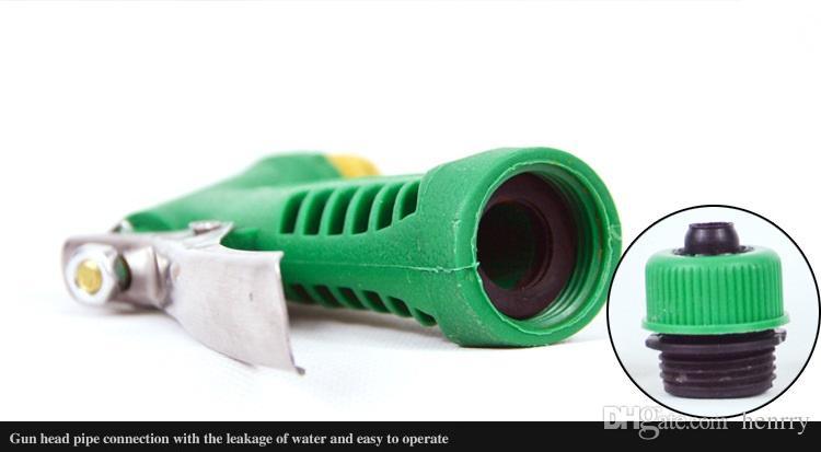 10 Meters Household Car Wash Water Gun High Pressure Copper Head Garden Watering Flowers 10-35 Meter Water Pipe