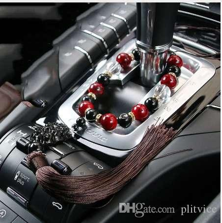 Fuzzy Dice Car Decor Rear View Mirror Hanging Dice Home Office Window LIN