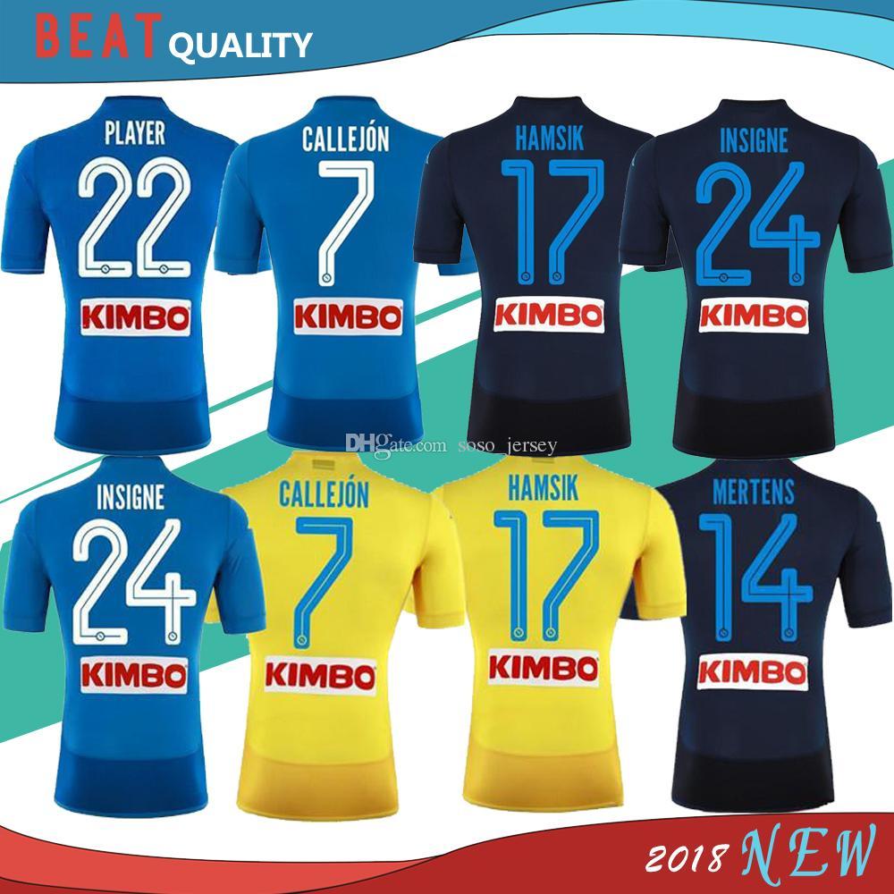 98f18113d3358 Camiseta Napoli nuevas