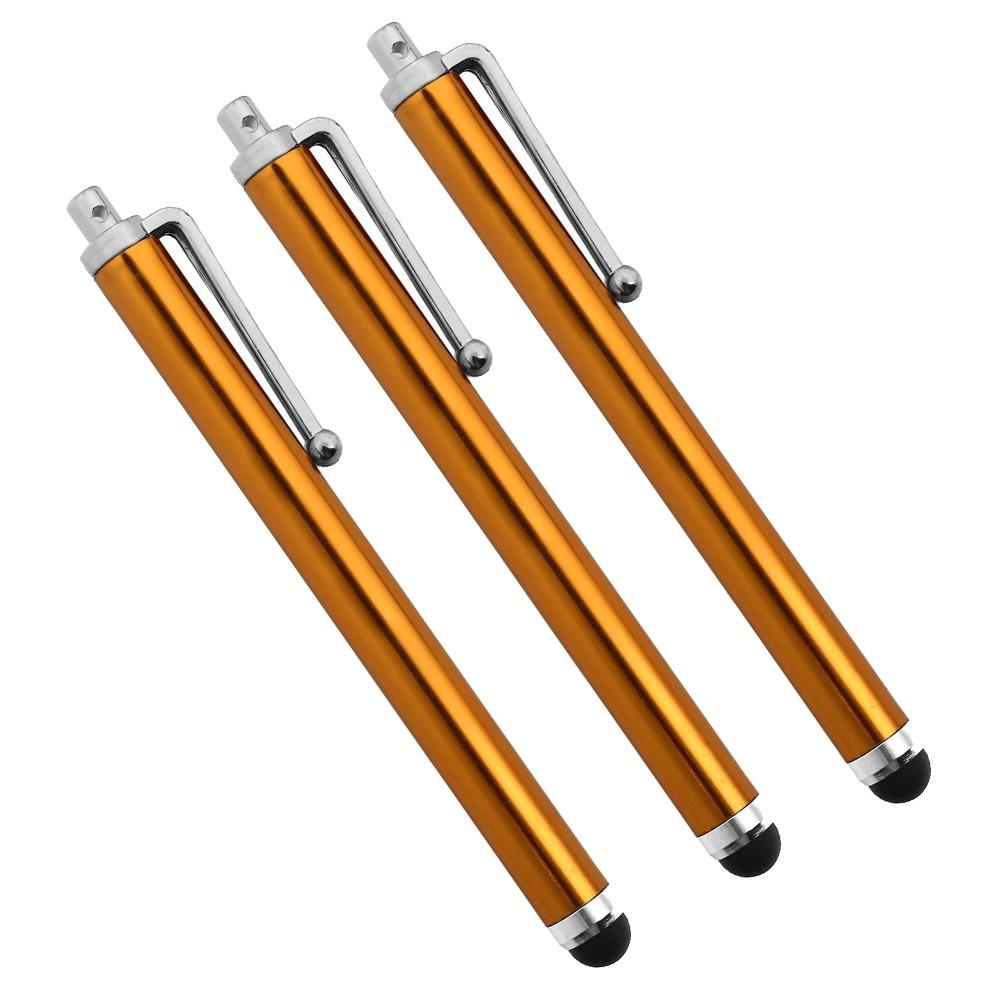 9.0 شاشة لمس القلم 500 قطع المعادن بالسعة شاشة ستايلس أقلام لمس القلم لسامسونج الهاتف الخليوي فون اللوحي 10 ألوان فيديكس dhl شحن