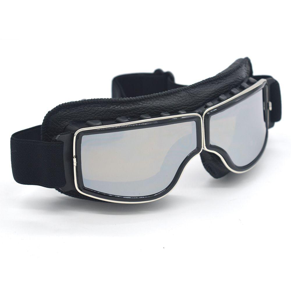 0050fb023a Motorcycle Goggles For Harley Motocross Helmet Glasses UV Protection Ski  Snowboard Skate Goggle Retro Eyewear Lens Leather Motorcycle Polarized  Sunglasses ...