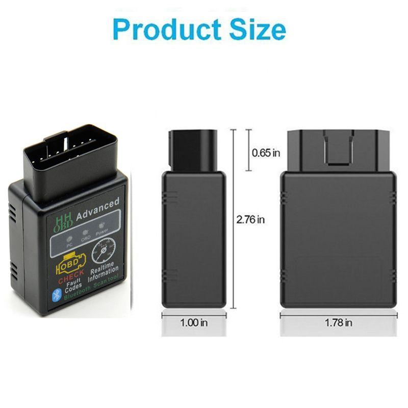 Bluetooth Auto-Scanner OBD ELM327 V2.1 Erweiterte MOBDII OBD2 Adapter BUS Check Engine Selbstdiagnosescanner-Codeleser-Werkzeug