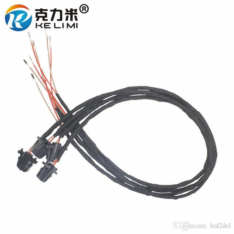 50cm Extension Wires Cable Oem Led Door Light Bulb Wiring Harness Connector Socket Plug Adapter For Volkswagen Vw Golf Jetta Passat Phaeton: Wiring Harness Connectors At Jornalmilenio.com