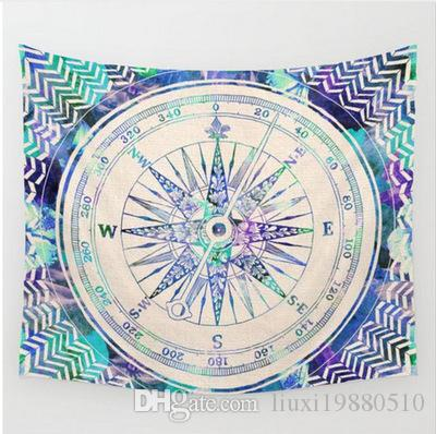 Bohemia Style Yoga Mat Home Decorative Mandala Hippie Art Wall Hanging Tapestry Elephant Printing Beach Towel Fashion Blanket