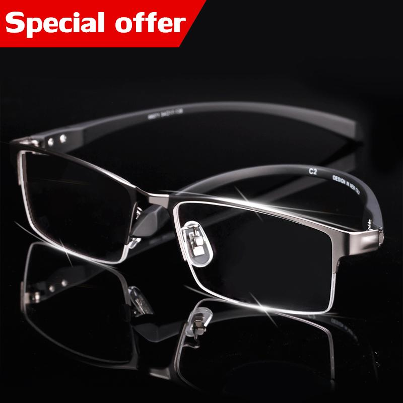 243b4716678c Yewear Tr90 Titanium Myopia Glasses Frame Men Reading Glasses ...