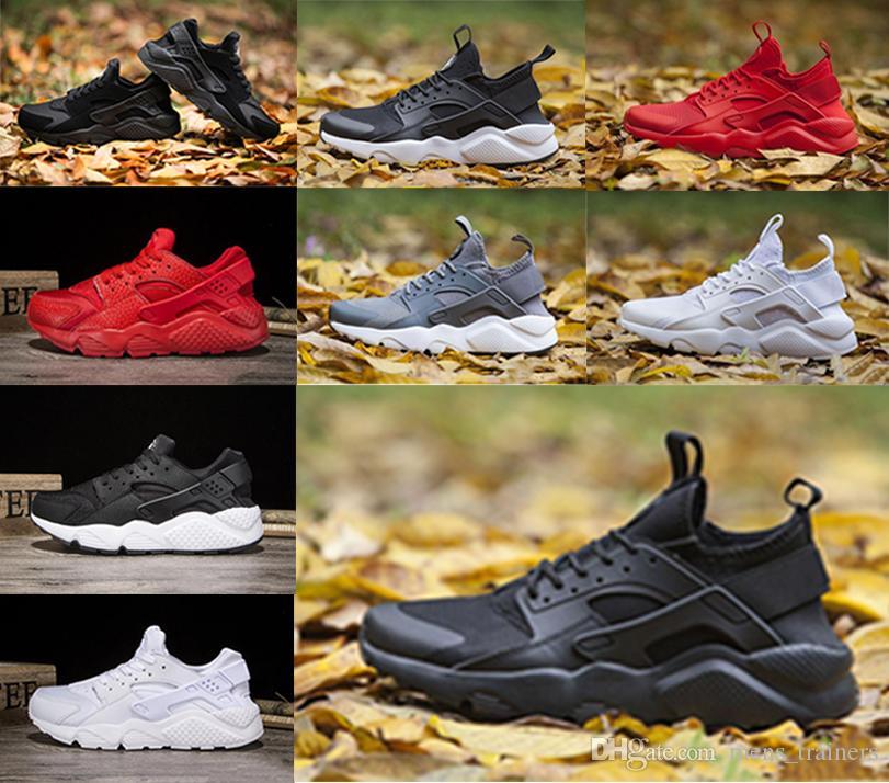 the best attitude 0f647 276cf Compre Nike Air Huarache Fábrica Outlet Nombre Marca Fashion Huarache 1.0  4.0 Zapatillas De Running Huaraches Zapatillas De Deporte Para Mujeres  Zapatos De ...