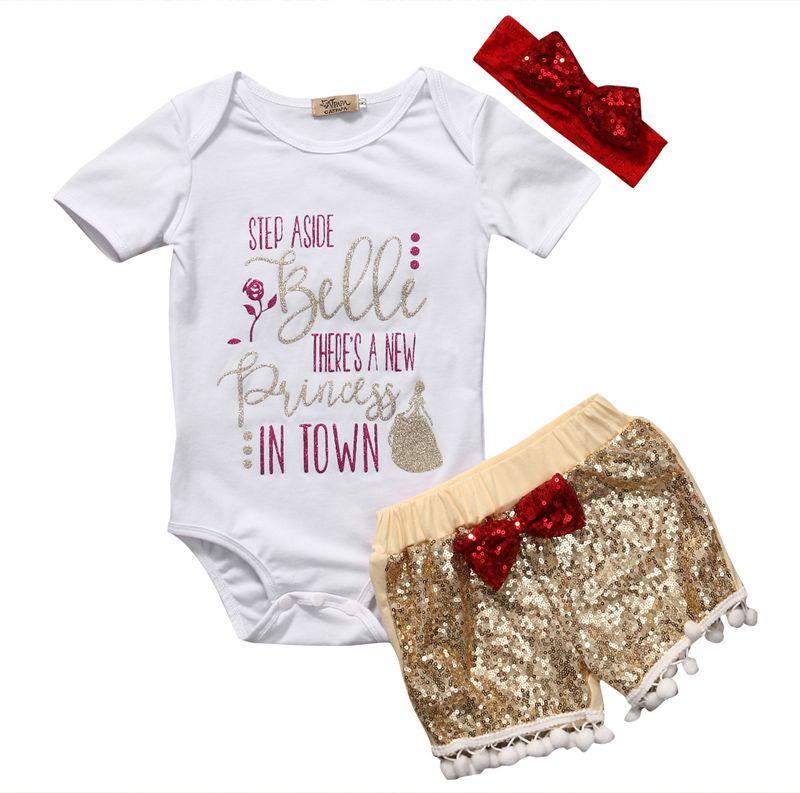8aad172d1 2019 Pudcoco New Casual Newborn Baby Girls Romper Short Sleeve O ...
