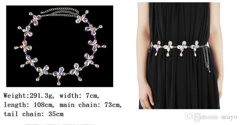 Nuovi accessori la cintura da sposa. Dancing Lady decorativo yaolian. Catena pendente trapano ad acqua creativo danza del ventre. Una varietà di stili