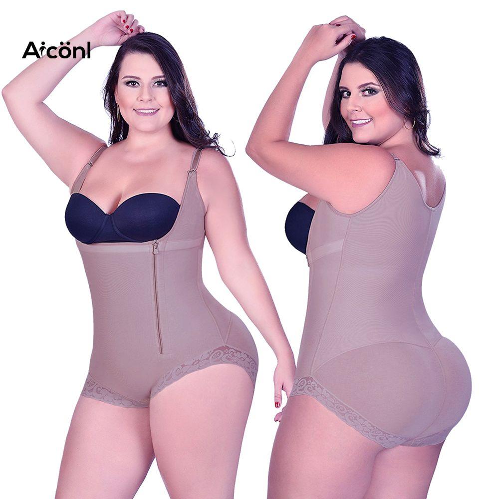 eb232292a5864 Shapewear Underwear Waist Trainer Modeling Strap Body Shaper Women ...