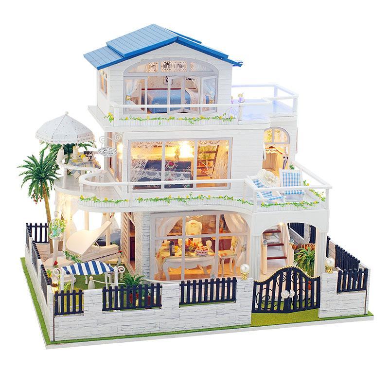 acheter sylvanian families maison en bois jouet miniature. Black Bedroom Furniture Sets. Home Design Ideas