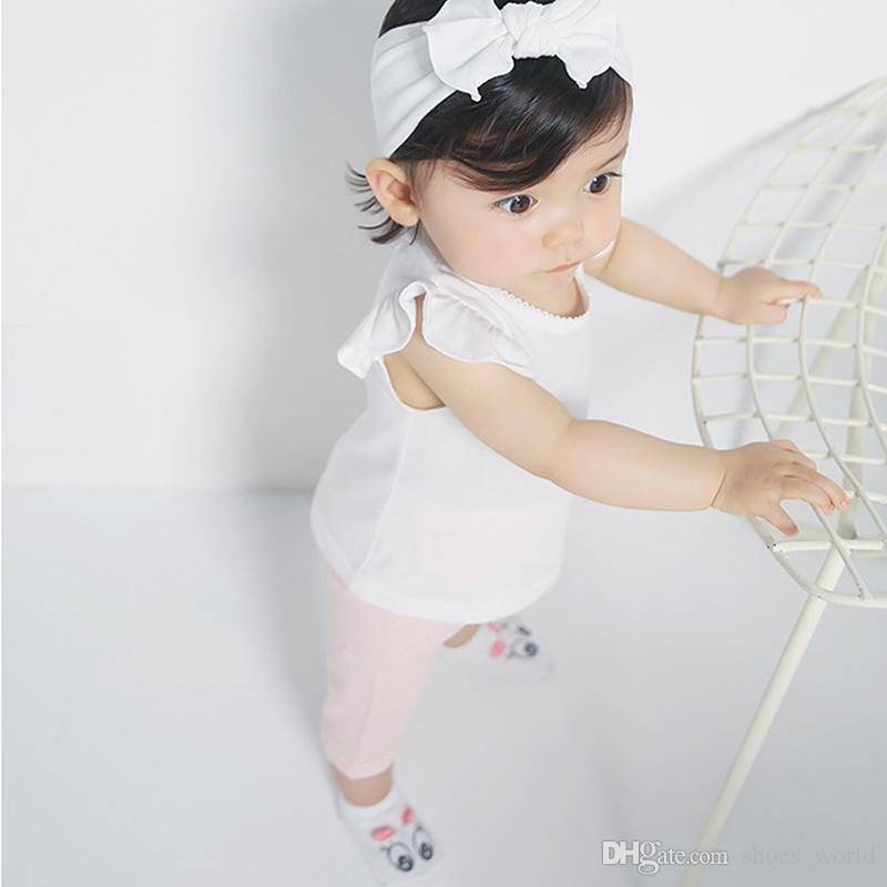 White Unisex Cotton Baby Socks Infant Boys Girls Anti Slip Sock Babys Spring/Autumn Cartoon Big Eyes 3D-Dimensional Sock For 0-2Y Hottest