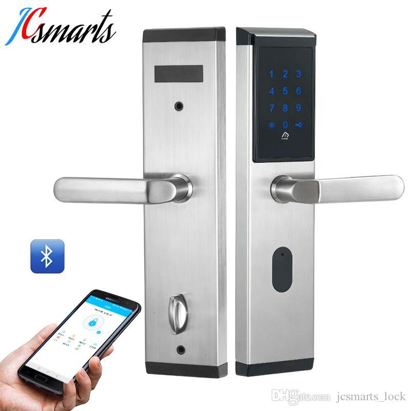 2018 Androidios Phone App Remote Access Door Lock Buletooth